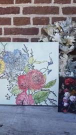 Vrijdag 23 oktober Workshop Iron Orchid Designs schilderij met Annie Sloan ChalkPaint