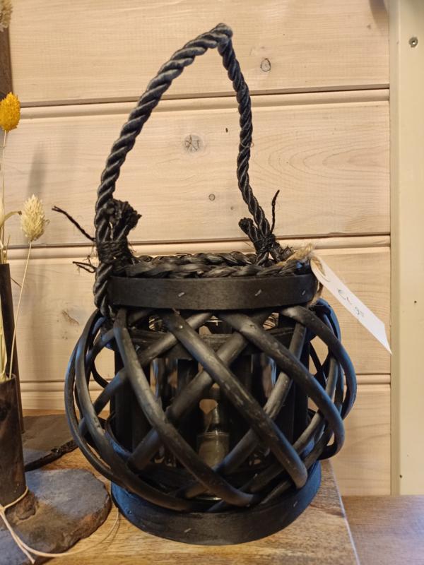 Houten lantaarn / windlichtje