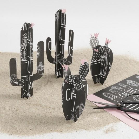 Scrapbooking papier/inpakpapier  Cactus