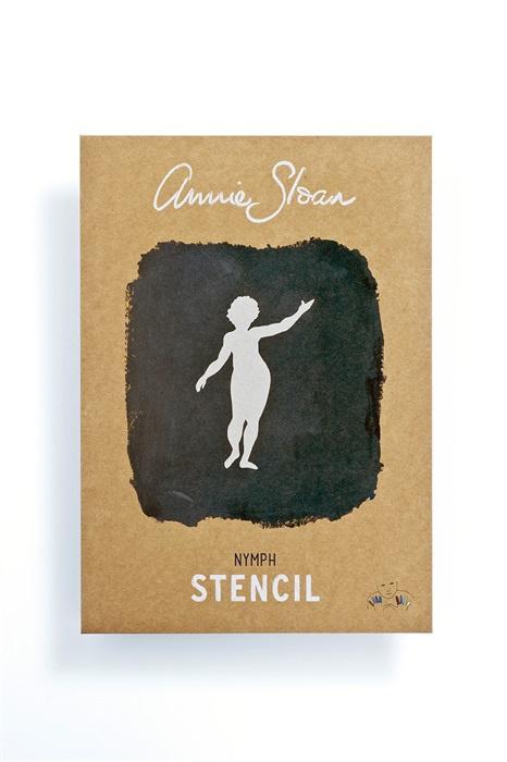 Stencil Nymph Annie Sloan Sjabloon A4