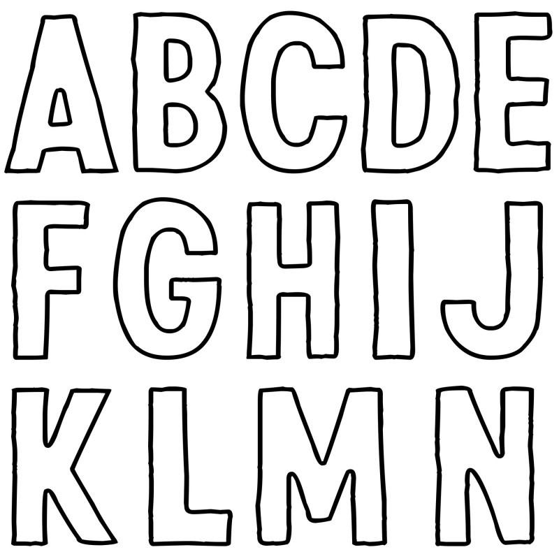 IOD deco stempel Reto alfabet, dubbele sheets