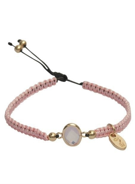 Dare-to-be-fabulous-armband Pink
