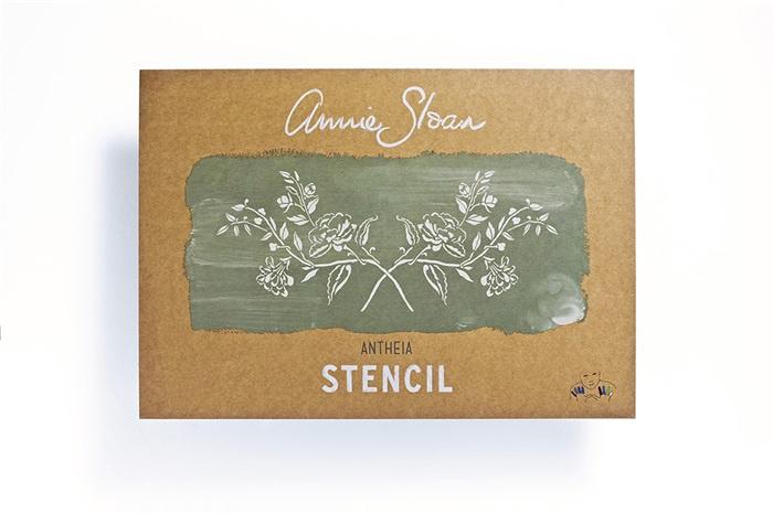 Stencil Antheia Annie Sloan Sjabloon A3