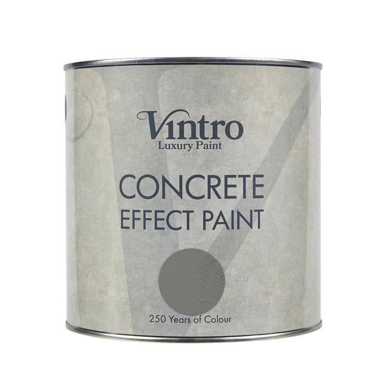 Concrete Effect Paint kleur Flint