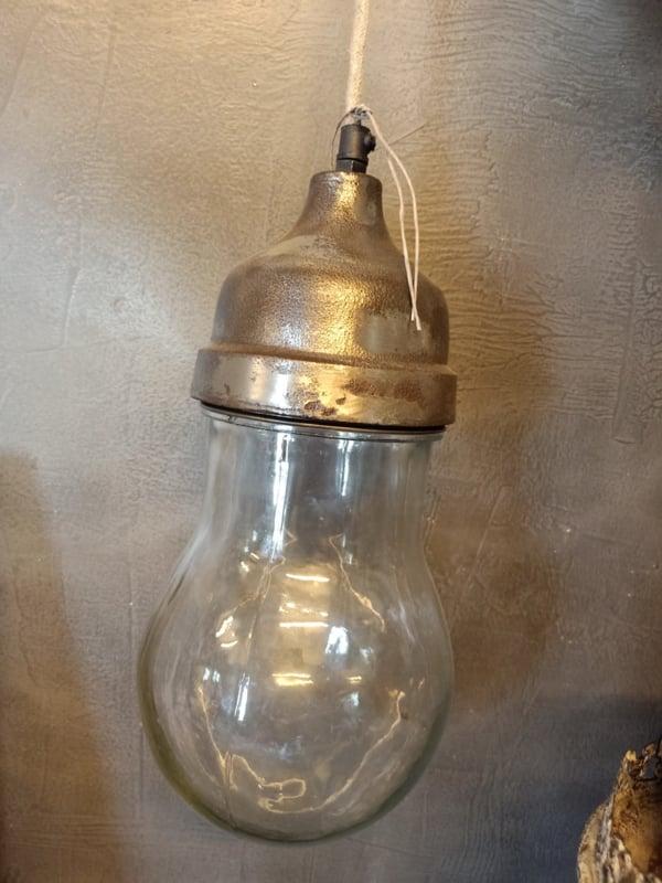 Super stoere zware lamp