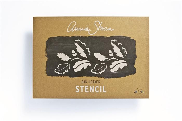 Stencil Oak Annie Sloan Sjabloon A3