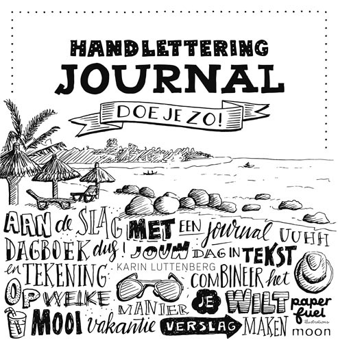 Boek; Handlettering Journal doe je zo!