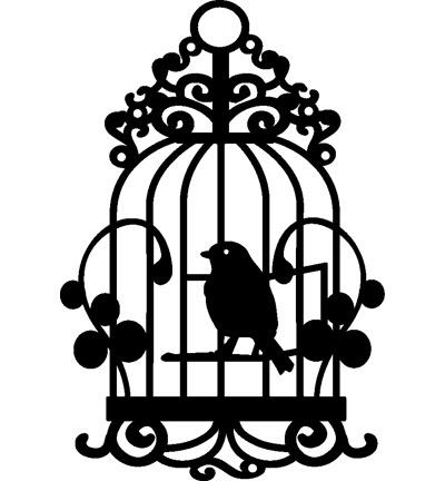 Mask stencil Birdcage