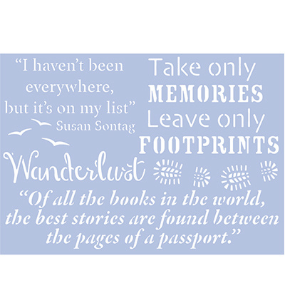 Travel Quotes 1 A4