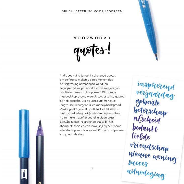 Quotes! Brushletteren voor iedereen van Carla Kamphuis