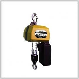 Electrische Accu kettingtakel / 3 m hijshoogte / 0.50 Ton