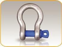 Harpsluiting met borstbout  0,5ton (HSBB8005) - 10 stuks