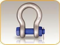 Harpsluiting met moerbout 0,5ton (HSMB8005) - 10 stuks