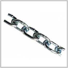 Scheepsketting / kortschalmige ketting/ elektrolytisch verzinkt/ 4 mm / 60m