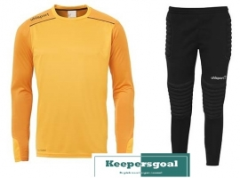Uhlsport Tower Goalkeeper Jr. Set Oranje