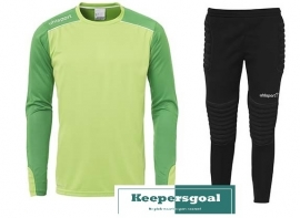 Uhlsport Tower Goalkeeper Jr. Set Groen