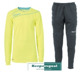 Uhlsport STREAM 3.0 GK junior set fluogeel