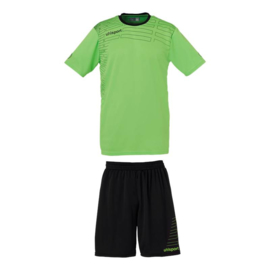 Uhlsport Match GK set SS green flash/black