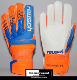 Reusch Prisma SG Finger Support Junior shocking orange/blue