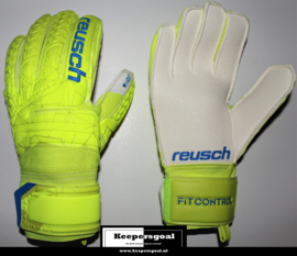 Reusch Fit Control RG Finger Support Lime Safety Yellow