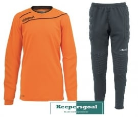 Uhlsport STREAM 3.0 GK junior set oranje