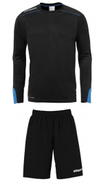 Uhlsport Tower Goalkeeper Set zwart