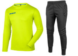 Reusch Match Set Junior Lime Green