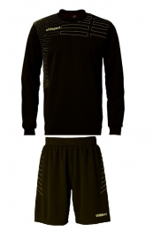 Uhlsport Match Goalkeeper set zwart