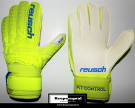Reusch Fit Control RG Finger Support Junior Lime Safety Yellow