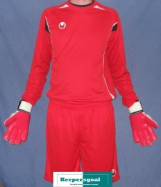 Uhlsport Infinity keeperset rood