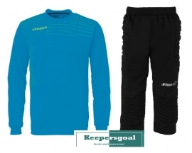 Uhlsport Match GK junior set cyan
