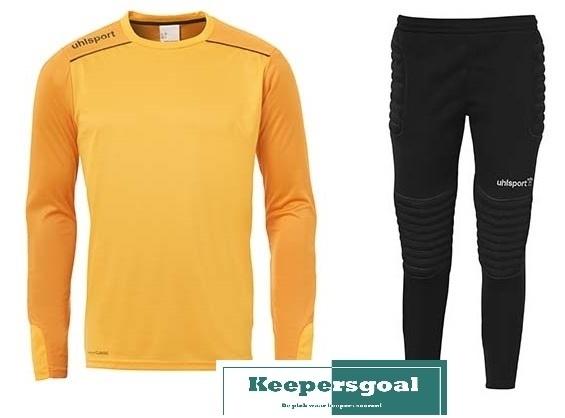 Uhlsport Tower Goalkeeper Jr. Set Oranje