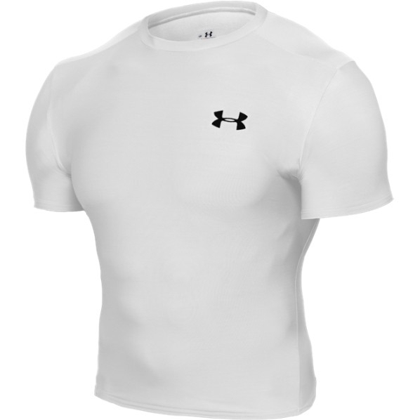 Under Armour Heatgear compression Full Tee wit