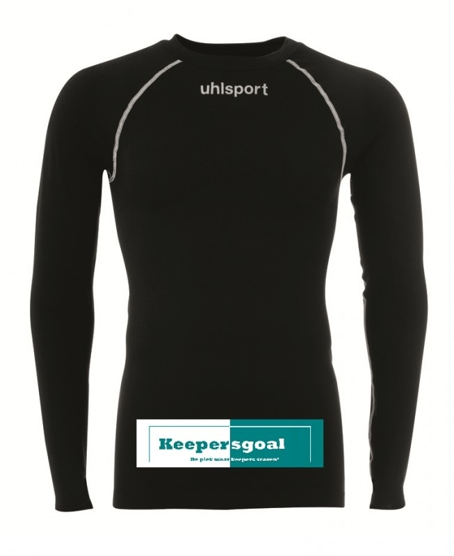 Uhlsport Thermo shirt zwart LM