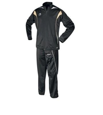 Uhlsport Infinity classic trainingspak (broek+jack) zwart maat M CLEAR-OUT