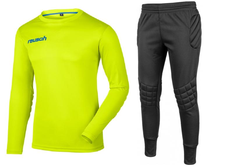 Reusch Match Set Junior Lime Green