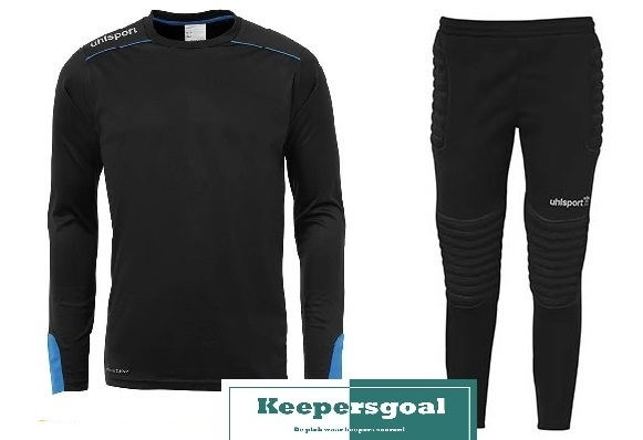 Uhlsport Tower Goalkeeper Jr. Set Zwart
