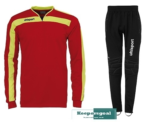 Uhlsport Liga keeperset rood CLEAR-OUT