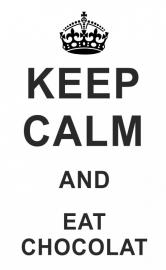 Muurtekst Keep Calm  - Kies uw eigen tekst