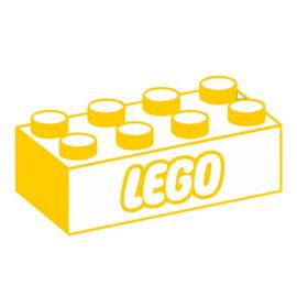 Muursticker LegoBlok