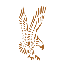 Muursticker Eagle