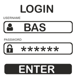 Naamsticker Login / Password