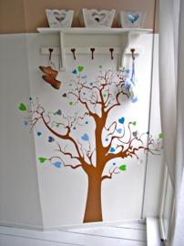 Muursticker Liefdesboom
