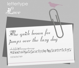 Lettertype Love