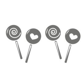 Muursticker Lollipop