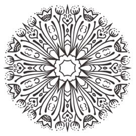Muursticker Mandala - Bloem