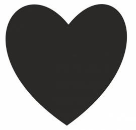 Hart  in diverse kleuren en afmetingen