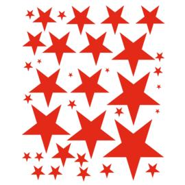 Muursticker Diverse sterren