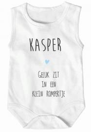 Baby rompertje met eigen naam
