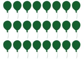 Muursticker setje Ballonnetjes